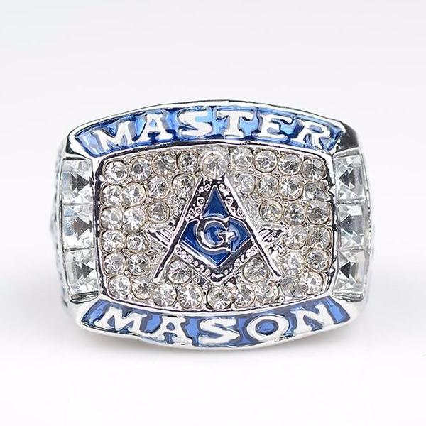 MASTER MASON Blue Ring - Bricks Masons
