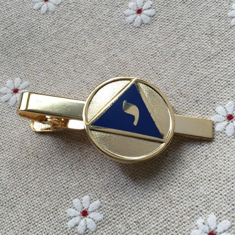 14th Degree YOD Lodge of Perfection Scottish Rite Masonic Tie Clip - Bricks Masons