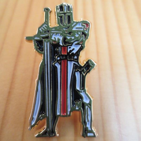 Knight Templar Masonic Lapel Pin - Bricks Masons