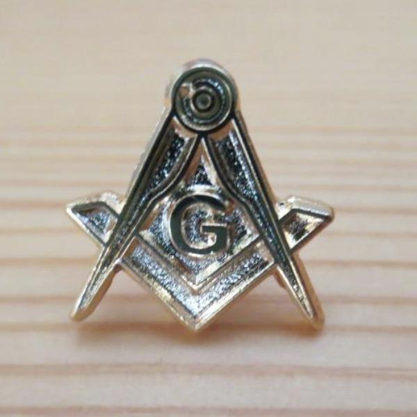 Compass And Square G Masonic Lapel Pin - Bricks Masons