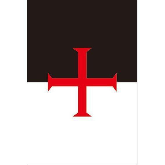 Knights Templar Masonic Flag - Bricks Masons
