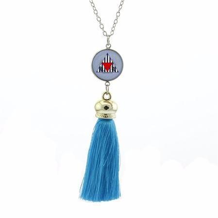 Variety Colorful Masonic Pendant Necklaces [Multiple Colors] - Bricks Masons