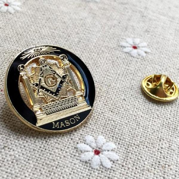 Masonic Lapel Pins & Brooches - Freemason Pin | Bricks Masons