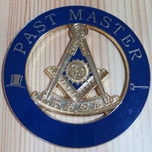 PAST MASTER Car Emblem - Bricks Masons