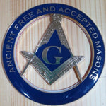ANCIENT FREE AND ACCEPTED MASONS Car Emblem - Bricks Masons