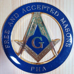 FREE AND ACCEPTED MASON PHA Emblem - Bricks Masons