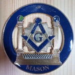 Lodge MASON Car Emblem - Bricks Masons