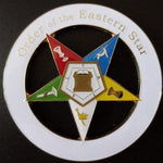 ORDER OF EASTERN STAR Car Emblem - Bricks Masons
