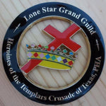 HEROINES of the TEMPLARS CRUSADE of TEXAS, PHA Car Emblem - Bricks Masons