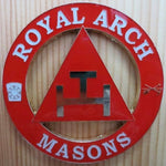 ROYAL ARCH MASONS Car Emblem - Bricks Masons