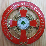 KNIGHT COMMANDER OF THE COURT OF HONOUR Car Emblem - Bricks Masons