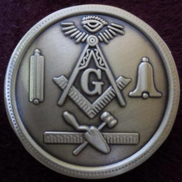 200th ANNIVERSARY - PULTNEYVLILLE LODGE Coin - Bricks Masons