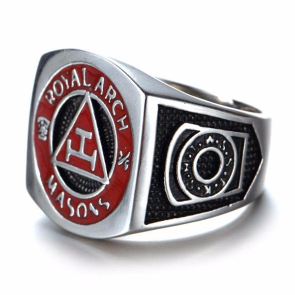 ROYAL ARCH MASONS Ring - Bricks Masons