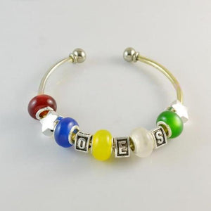 Order of Eastern Star OES Charms Bracelet - Bricks Masons