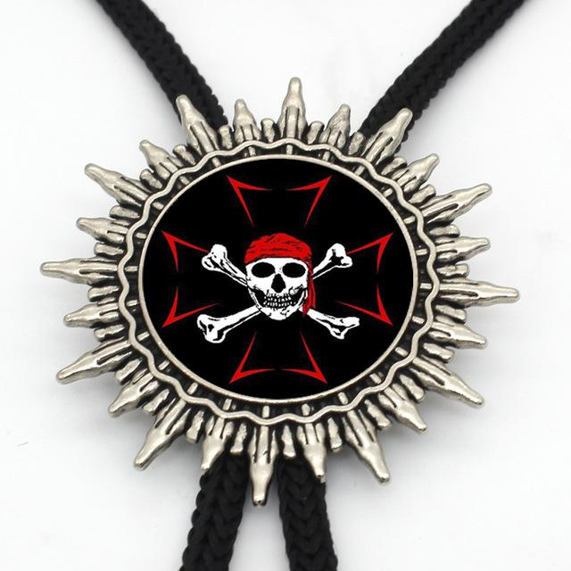 Knights Templar Cowboy Bolo Tie [Multiple Variations] - Bricks Masons