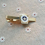 KSHTWSST White Gold Masonic Tie Clip - Bricks Masons