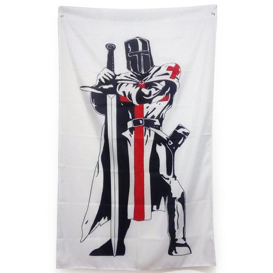 Knight Templar Masonic Flag