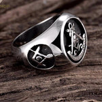 Ultimate Masonic Biker Ring - Bricks Masons