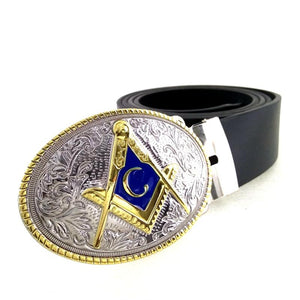 Cowboy Masonic Belt - Bricks Masons