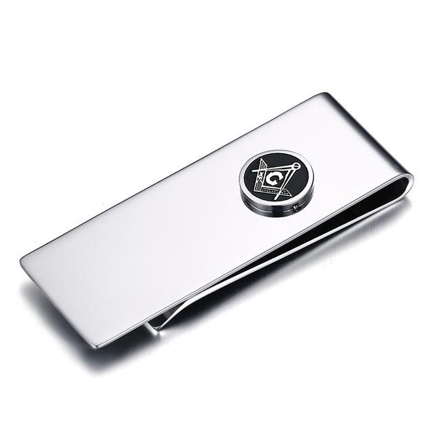 Masonic High Quality Metal Money Clip - Bricks Masons