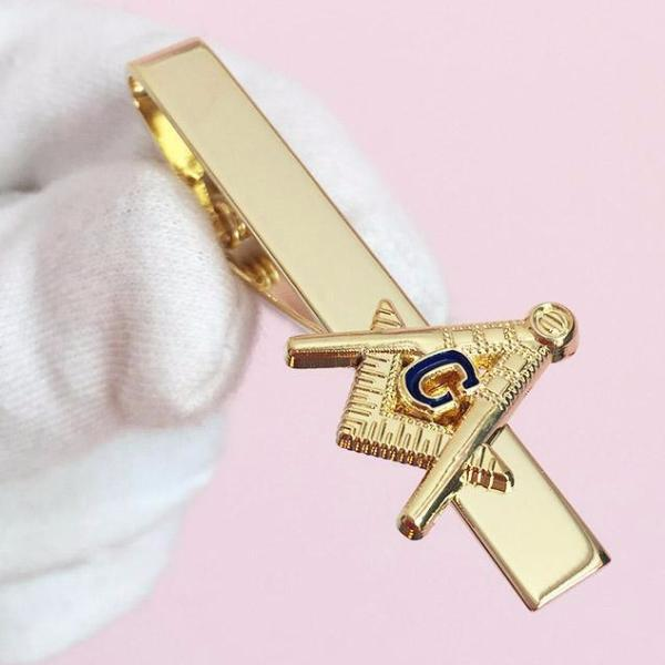 Blue Lodge Masonic Tie Clip - Bricks Masons
