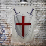 Knights Templar Shield Flag