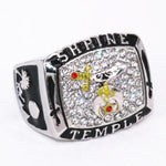 Shrine Temple Masonic Ring