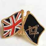United Kingdom UK Flag Masonic Lapel Pin