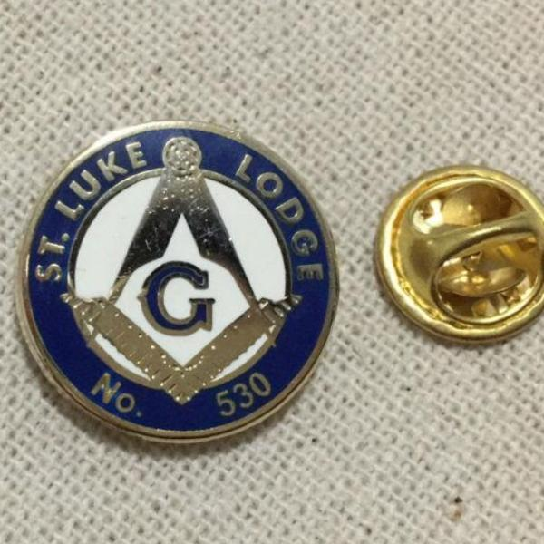 ST. Luke Lodge No.530 Masonic Lapel Pin