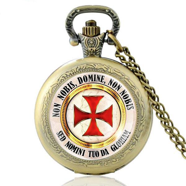 Variety of Knights Templar Pocket Watches
