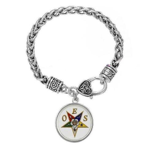 Order of The Eastern Star OES Bracelet - Bricks Masons