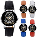 Look to the East Masonic Wristwatch [Multiple Colors]