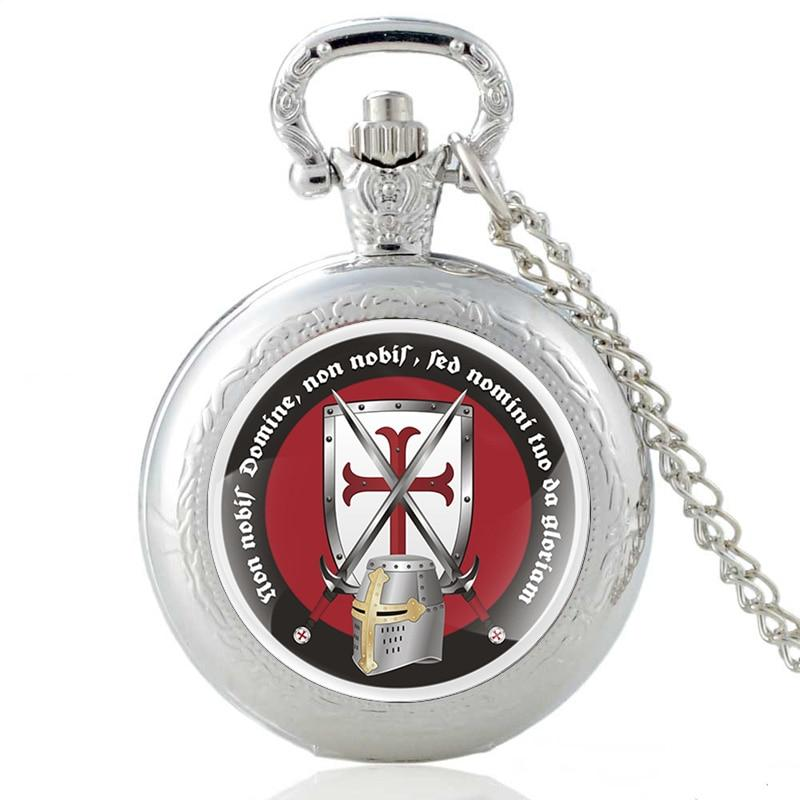 Three Colors Knights Templar Pocket Watches
