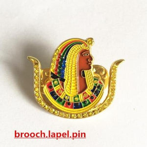 Daughters of Isis DOI Brooch Lapel Pin - Bricks Masons