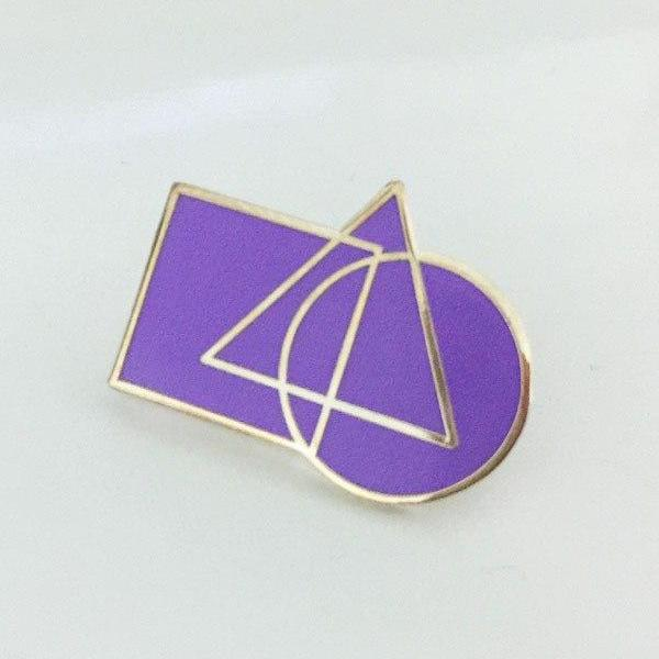 York Rite Cryptic Council Masonic Lapel Pins