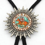 Knights Templar Designs Cowboy Bolo Ties [Multiple Variations] - Bricks Masons