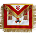 Masonic Royal Arch Past High Priest Apron PHP with Tassels Hand Embroidered