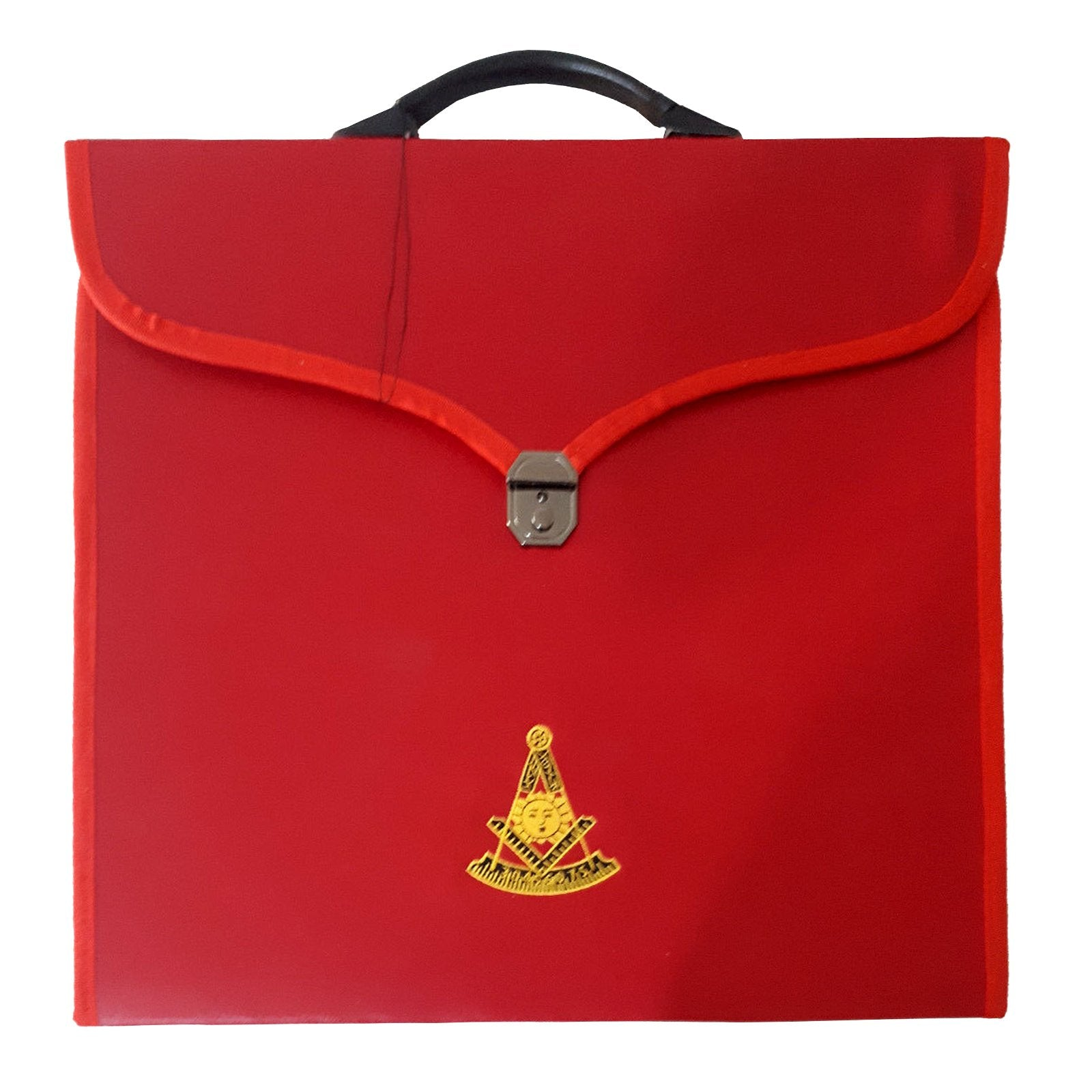 Masonic MM/WM and Provincial Full Dress Past Master Red Cases II - Bricks Masons