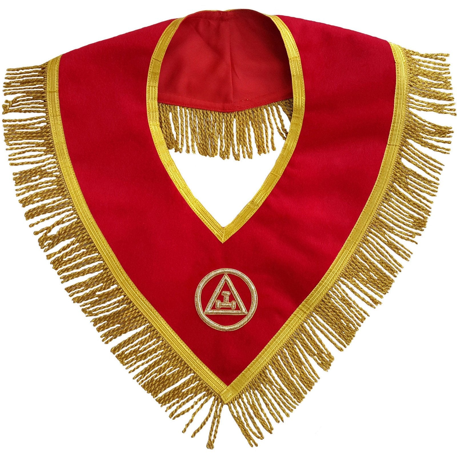 Masonic Royal Arch Mason Member Collar Hand Embroidered - Bricks Masons