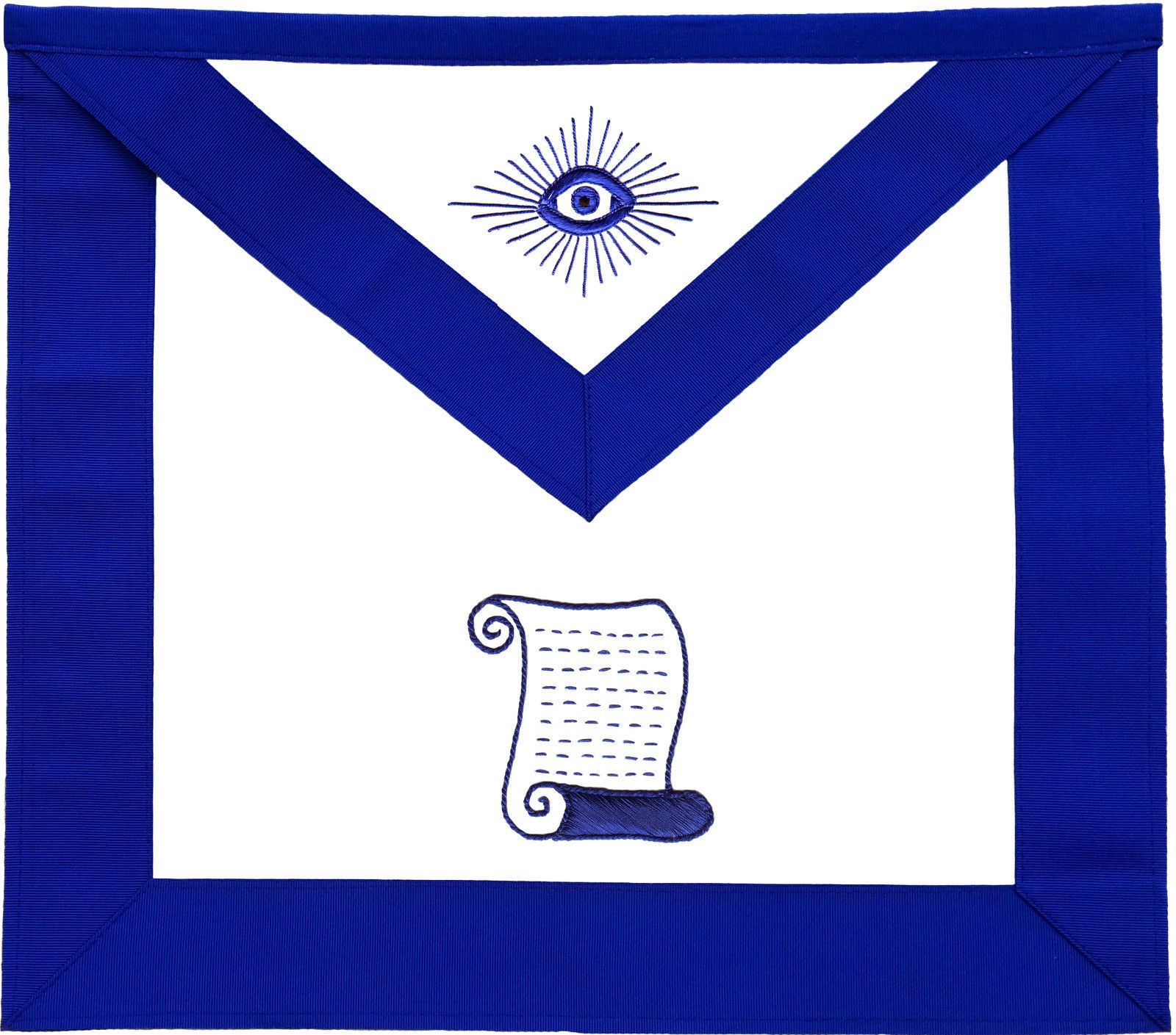 Masonic Blue Lodge Officers Aprons Variations - Bricks Masons