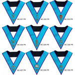 Masonic Memphis Misraim Officer Collars Hand Embroidered - Bricks Masons