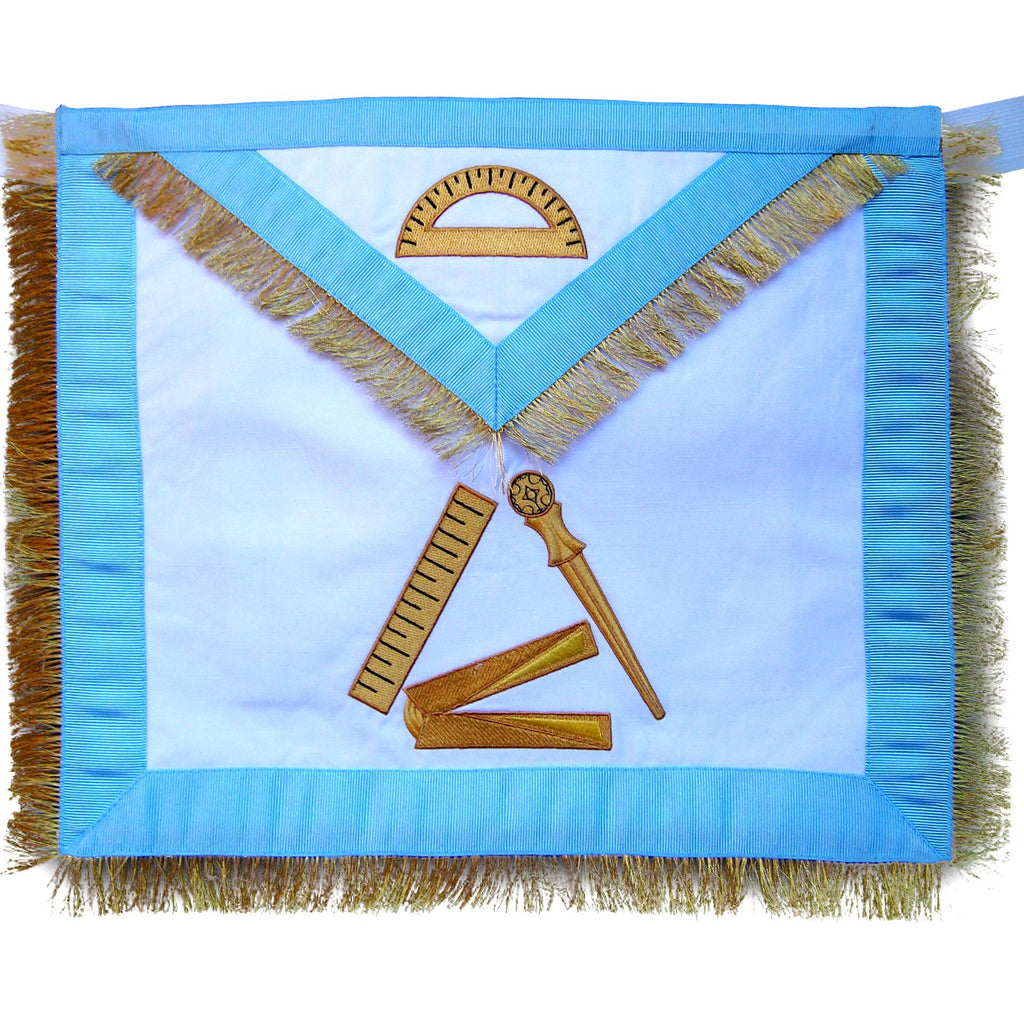 Masonic Fraternal Scottish Rite 12th Degree Grand Master Architect Regalia Apron - Bricks Masons