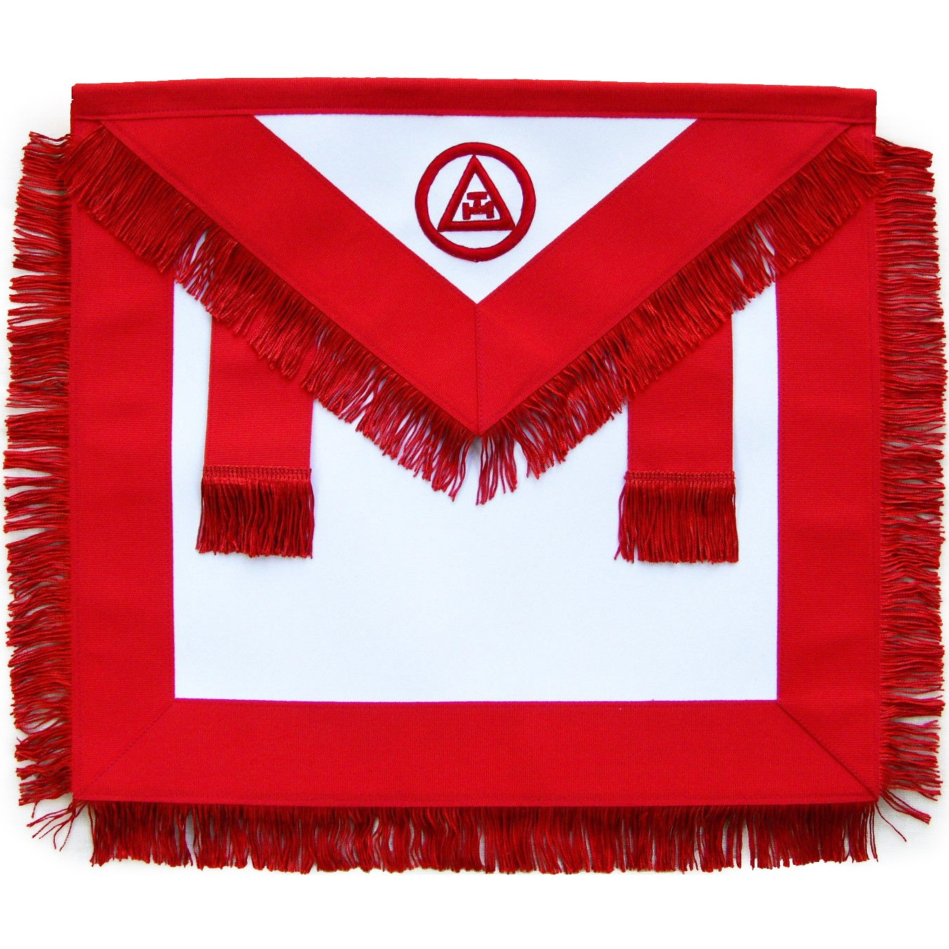 Masonic Royal Arch Member RAM Apron With Fringe