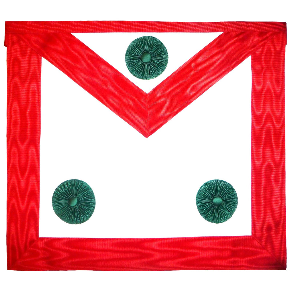 Knight Mason Apron Red - Bricks Masons