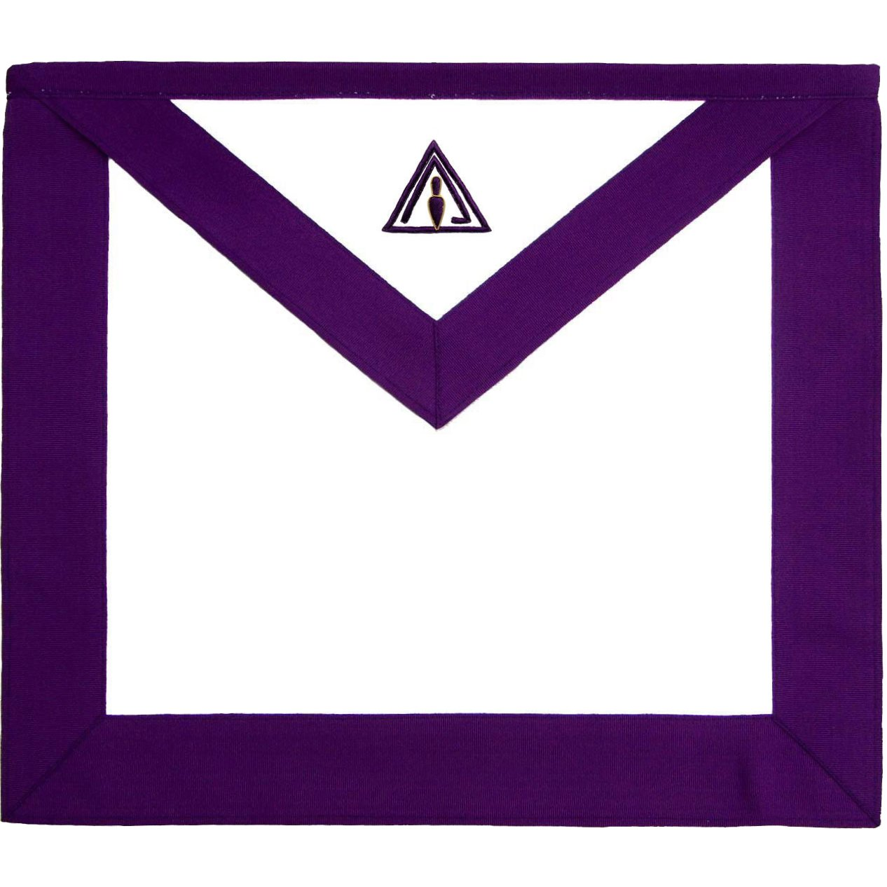 Masonic RSM Council Royal & Select Master Member Apron - Bricks Masons