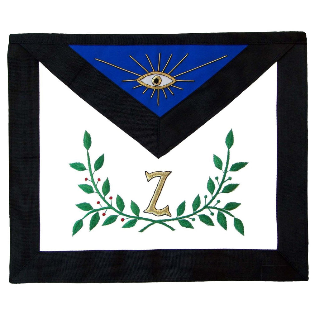 Masonic AASR 4th Degree Apron and Collar Set Hand Embroidered - Bricks Masons