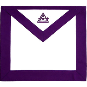 Masonic Council Royal & Select Master RSM Member Apron - Bricks Masons