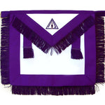 Masonic Royal & Select Master RSM Council Member Apron - Bricks Masons
