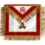 Masonic Royal Arch Past High Priest Apron PHP with Fringe Hand Embroidered - Bricks Masons
