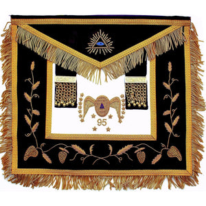 Masonic Scottish Rite 95th Degree Apron - Bricks Masons